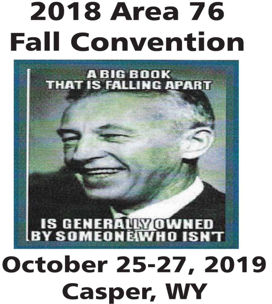 AREA 76 FALL CONVENTION