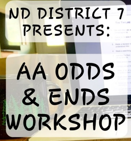 DIST 7 ODDS AND ENDS WORKSHOP